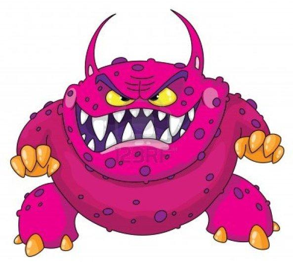 11514527-ilustracion-de-un-monstruo-furioso